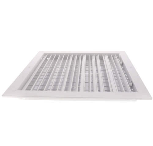 "10"" x 10"" White Commercial Supply Register (821 Series)"