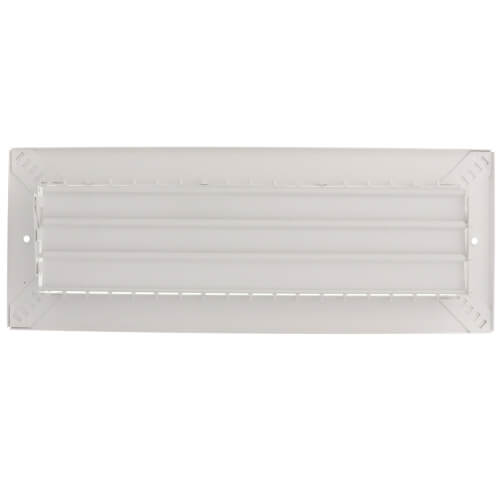 "14"" x 4"" White Commercial Supply Register (821 Series)"