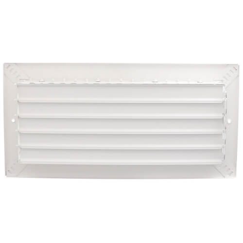 "14"" x 6"" White Commercial Supply Register (821 Series)"