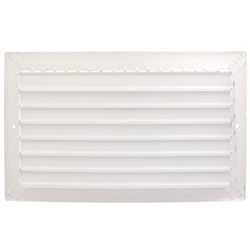 "14"" x 8"" White Commercial Supply Register (821 Series)"