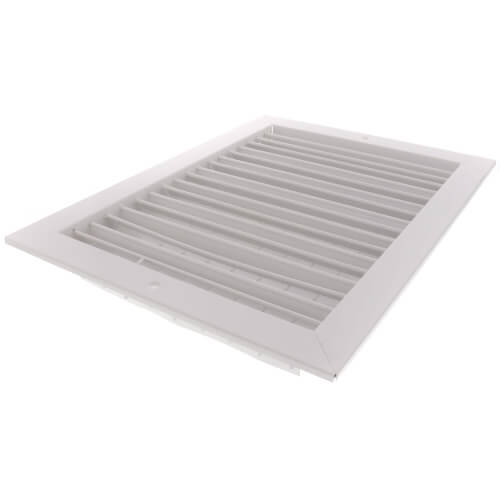 "14"" x 10"" White Commercial Supply Register (821 Series)"