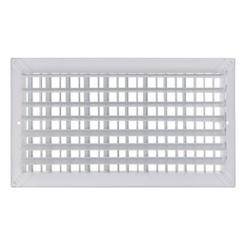 "8"" x 8"" White Commercial Supply Register (821 Series)"