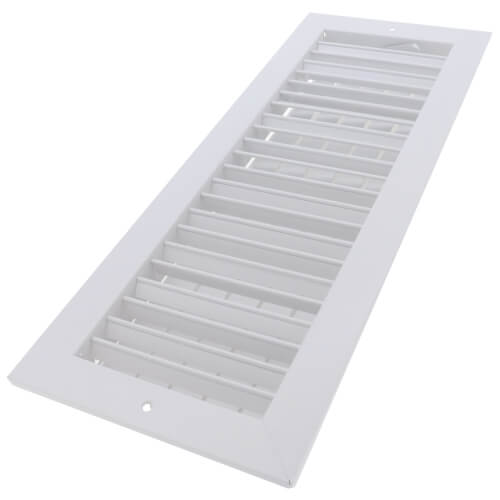 "18"" x 6"" White Commercial Supply Register (821 Series)"
