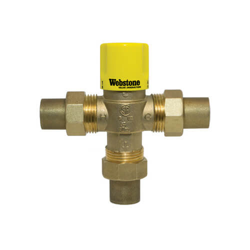 """Watts Thermostatic Mixing Valve: 1/2"""" Sweat Thermostatic Mixing"""