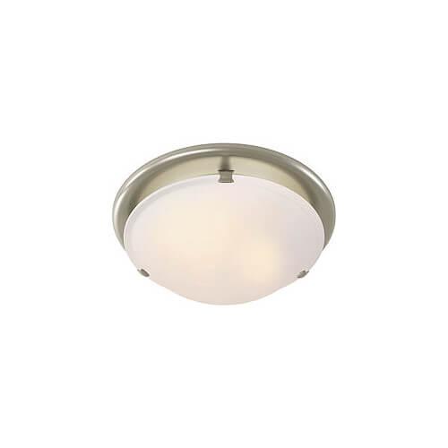 Round Bathroom Fan Light Combination: Model 761BN Decorative Ventilation