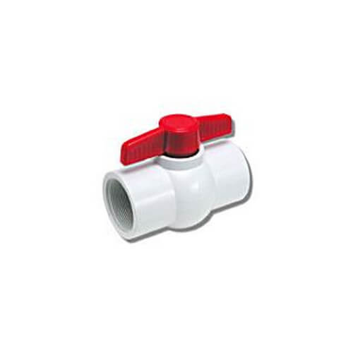"2"" 770N Economy PVC Ball Valve - Threaded Ends"
