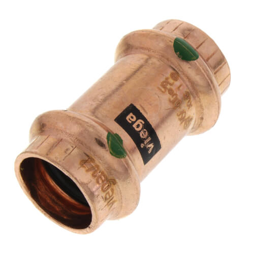 """1/2"""" ProPress Copper Coupling - No Stop (Lead Free) Product Image"""