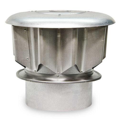 "8"" Star-Kap, Aluminum Vent Cap Product Image"