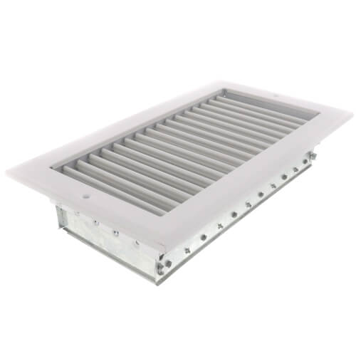 "10"" x 6"" White Sidewall/Ceiling Register (A618MS Series)"
