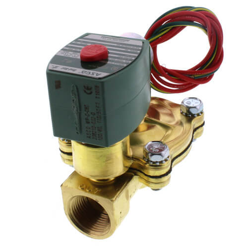 """3/4"""" Normally Closed Solenoid Valve, 6.5 CV (120v) Product Image"""