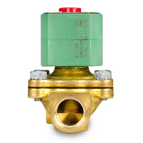 "1"" Normally Closed Solenoid Valve, 13 CV (120v)"