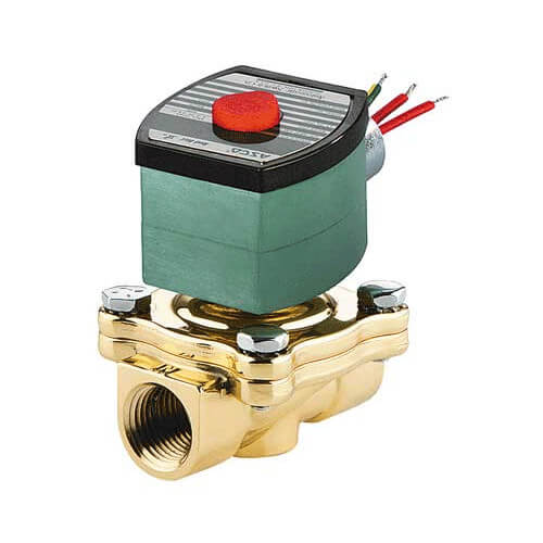 "3/4"" Normally Closed Solenoid Valve, 6.5 CV (120v)"