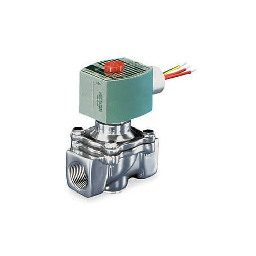 "3/8"" Normally Closed Gas Shutoff Valve, 1.2 CV (64,400 BTU)"