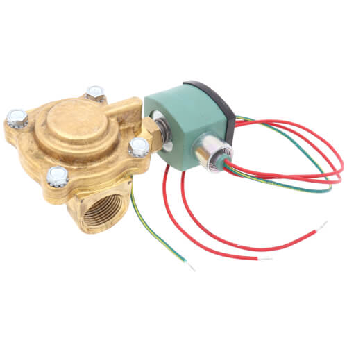 "1"" Slow Closing Solenoid Valve, 11.5 CV (24v) Product Image"