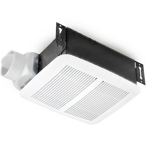 "Model 8832WH Ventilation Fan w/ White Plastic Grille, 3"" Duct (80 CFM)"