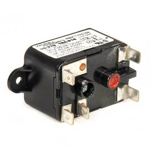 Transformer, 40VA, 60 Hz, 120/208/240V Primary, 24V Secondary, Foot Mount