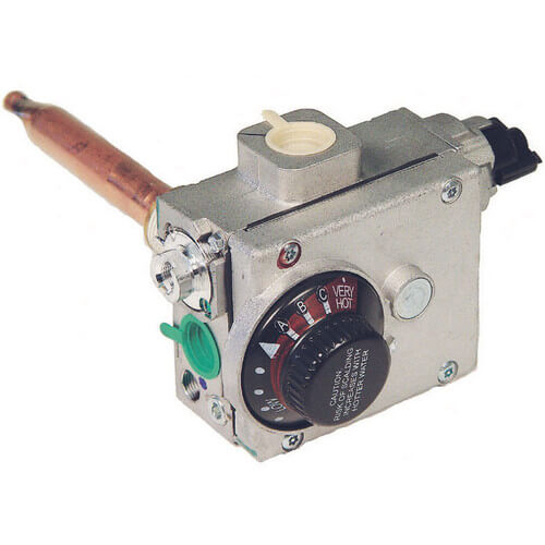 "White Rodgers Temperature Control for Natural Gas, FVIR Related, 4"" Manifold Pressure Setting, A=1 1/4"""
