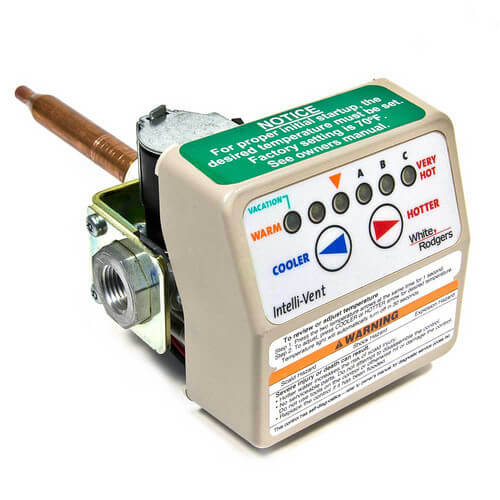 "White Rodgers Intellivent Thermostat Gas Control for Propane Gas, 1.25"" Shank Product Image"
