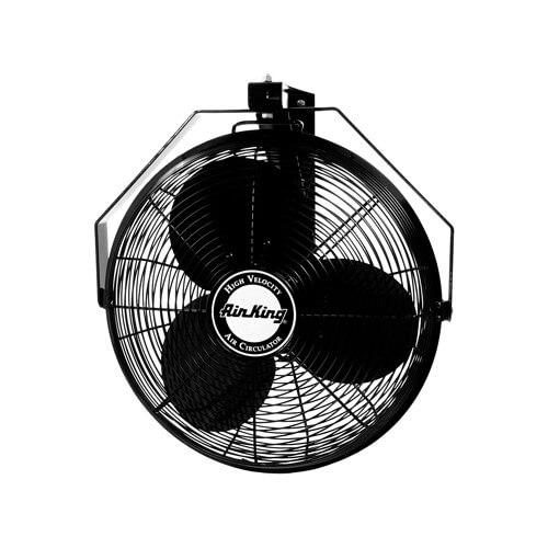 Wall Mount Air Ventilator : Air king quot speed non oscillating
