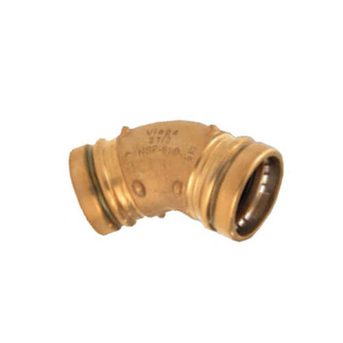 "4"" Propress XL Bronze 45 Elbow (CxC)"