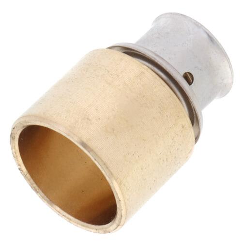 92026 viega 92026 1 2 pex press x 3 4 copper pipe for Copper pipe to pex fitting