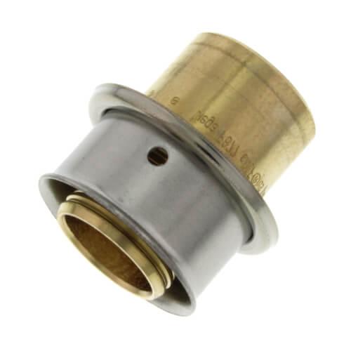 92036 viega 92036 3 4 pex press x 1 2 copper pipe for Pex pipe to copper