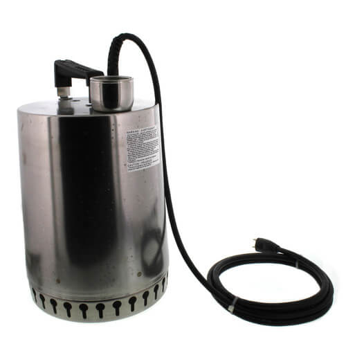 """AP12 Sump Pump - 1/2 HP, 10ft power cord, 7/16"""" solids handling Product Image"""
