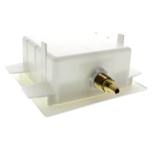"Zero Lead Ice Maker Outlet Box with 1/2"" PEX Press Valve"