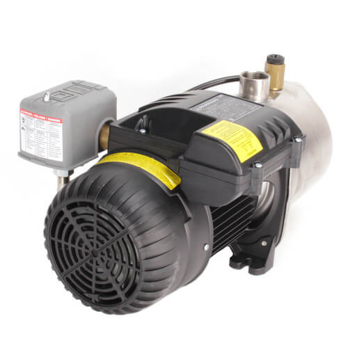 JP4-61ASI Shallow Well Jet Pump, Stainless Steel (115/230V, 1 HP)