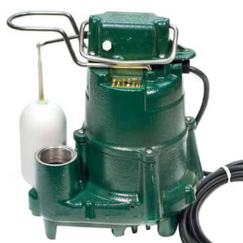 Model M98 Flow-Mate Automatic Cast Iron Effluent Sump Pump - 115 V, 1/2 HP