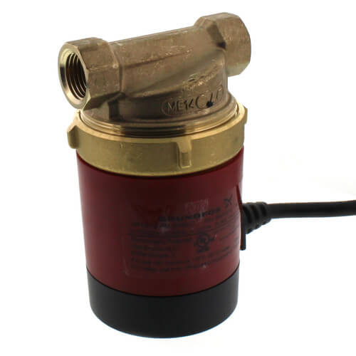 UP10-16APMB5/LC GRUNDFOS PUMP, WITH LINE CORD, 1/2 SWEAT CONNECTION (no timer) 98420222