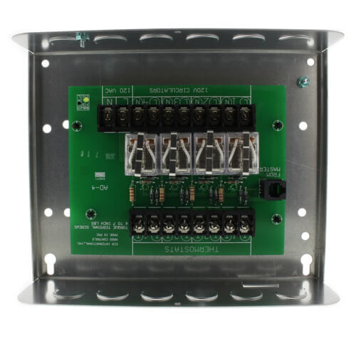 arm3p argo arm3p 3 zone expandable switching relay add on zoning module<br> for arm control 1 zone