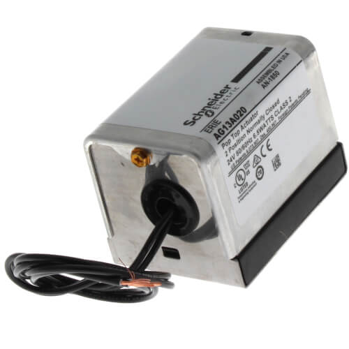 """24V Normally Closed PopTop Actuator w/ 18"""" Leads Product Image"""