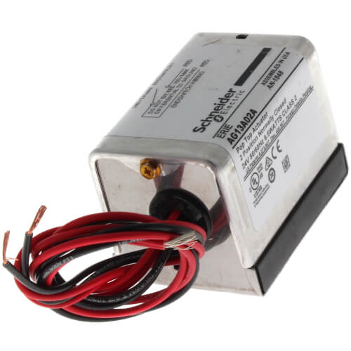 "24V Normally Closed PopTop Actuator w/ 18"" Leads & End Switch Product Image"
