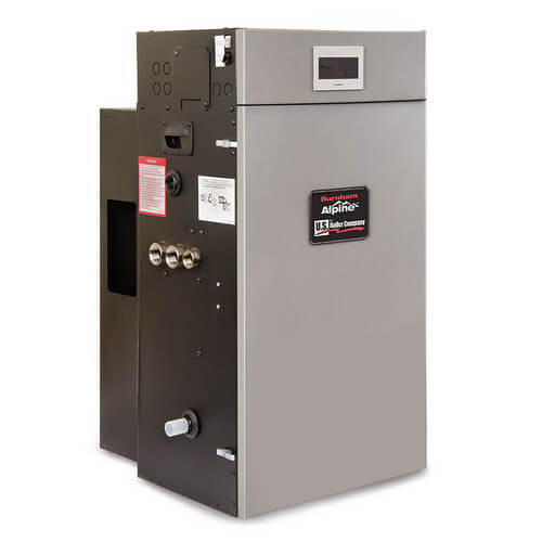 Alpine 168,000 BTU Output Condensing Boiler (Wall or Floor Mount)