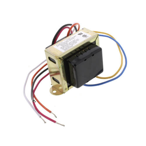 Foot Mounted 120/208/240 Vac Transformer w/ 9 in. Lead Wires w/ Plastic End Caps