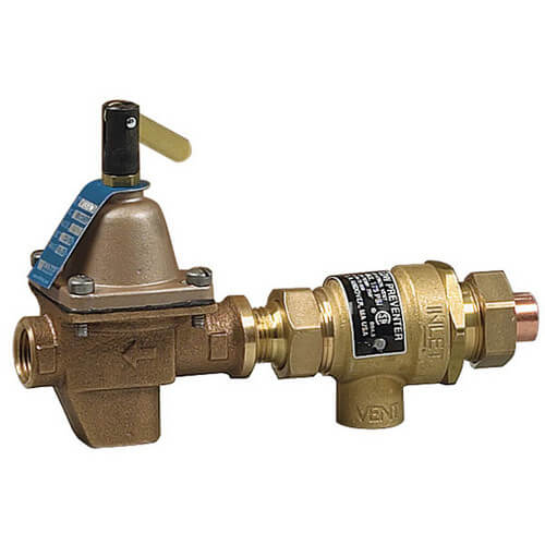 "B911, 1/2"" Bronze Combination Fill Valve & Backflow Preventer, Threaded"