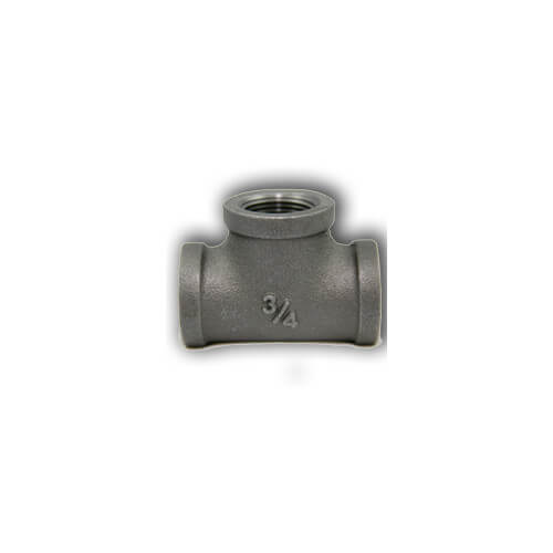 "1-1/2"" x 3/4"" Black Hexagon Bushing"