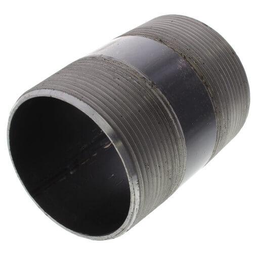 """3"""" x 4-1/2"""" Black Nipple Product Image"""