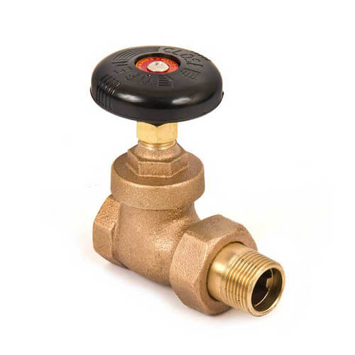 "3/4"" (FIP x Male Union) Steam Radiator Gate Valve"