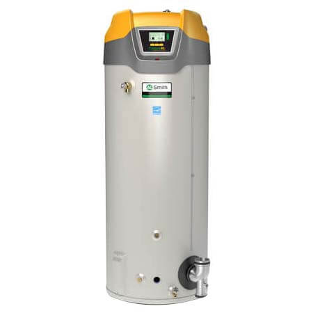 130 Gallon - 499,900 BTU Cyclone Xi ASME Commercial Gas Water Heater