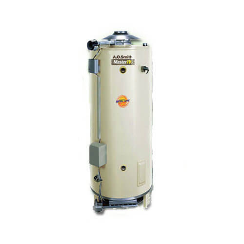 100 Gallon - 275,000 BTU Master-Fit BTN Commercial Gas Water Heater