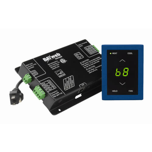 BAYweb Standard Network Thermostat (Blue) Product Image
