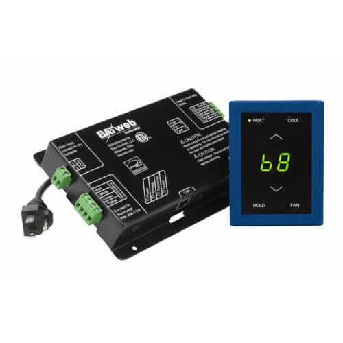 BAYweb Standard Network Thermostat (Blue)