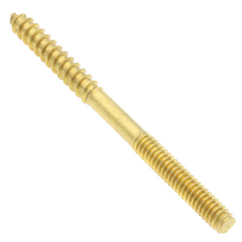 "1/4"" x 3 1/2"" Brass Screw"