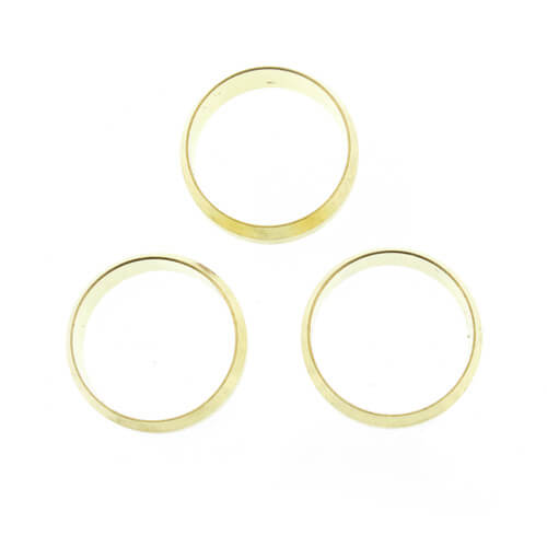 "(60-14) 7/8"" OD Brass Compression Sleeve"