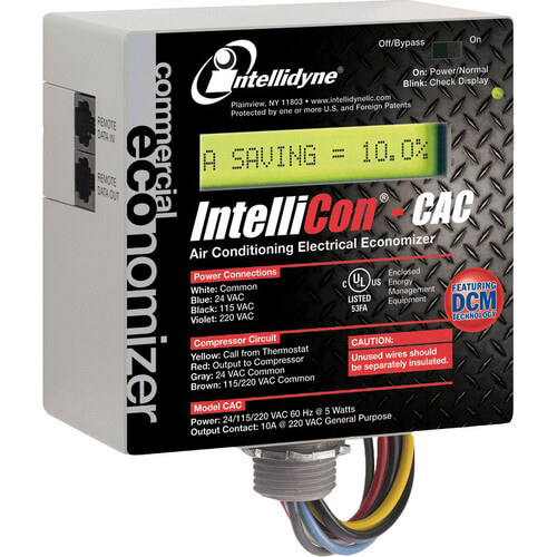 IntelliCon-CAC Commercial Central Air Conditioning Electrical Consumption Economizer Product Image