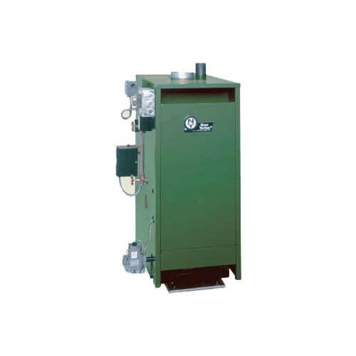CGS-A 65,000 BTU Output, Spark Ignition Cast Iron Steam Boiler (Nat Gas)