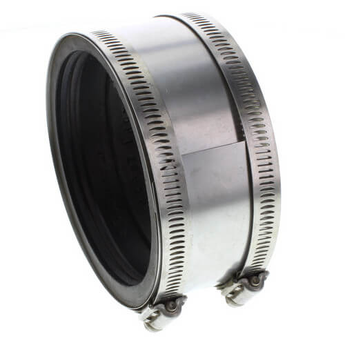 "4"" Cast x 4"" Copper Mission Coupling Product Image"