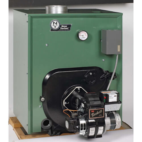 CL5-245 184,000 BTU Output, Cast Iron Water Boiler w/ Tankless Coil (Packaged)